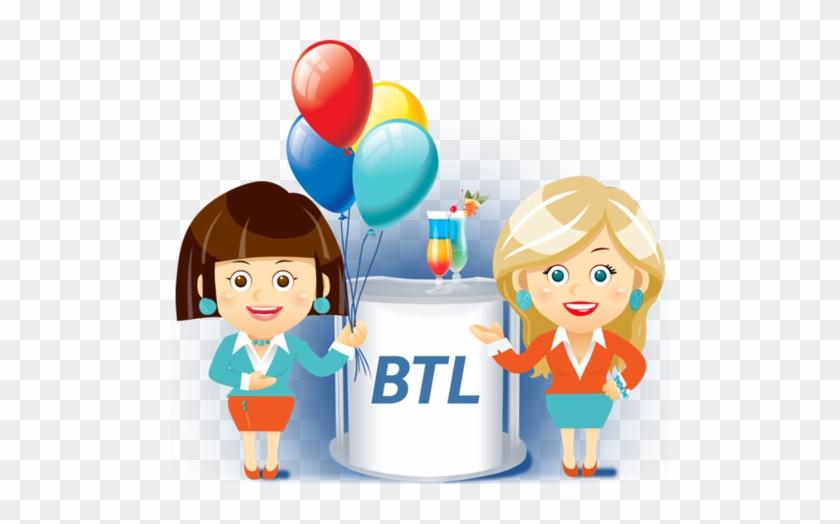 Btl Activities Service - Below The Line Marketing Ideas #232525