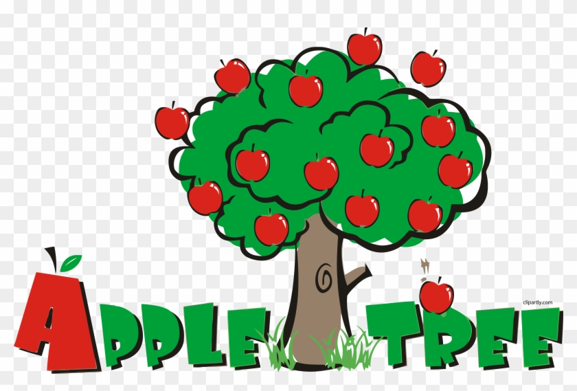 Apple Tree Pre School Clipart Png - Apple Tree Pre School #232560