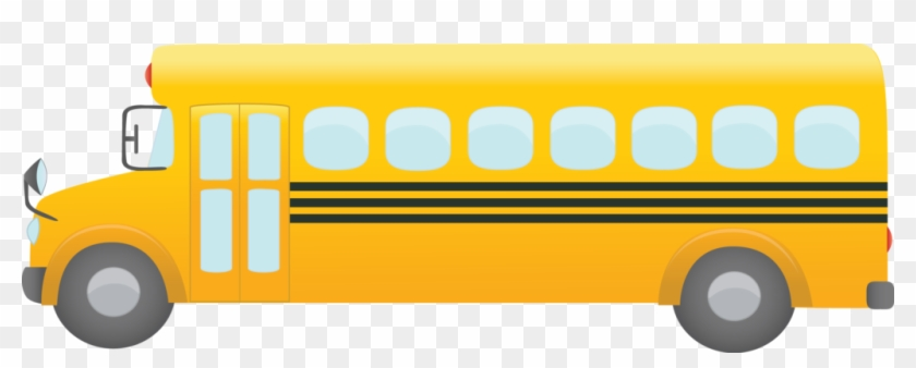 Image With School Bus Theme 5 Eps10 Vector Illustration - School Bus Clipart Png #232685