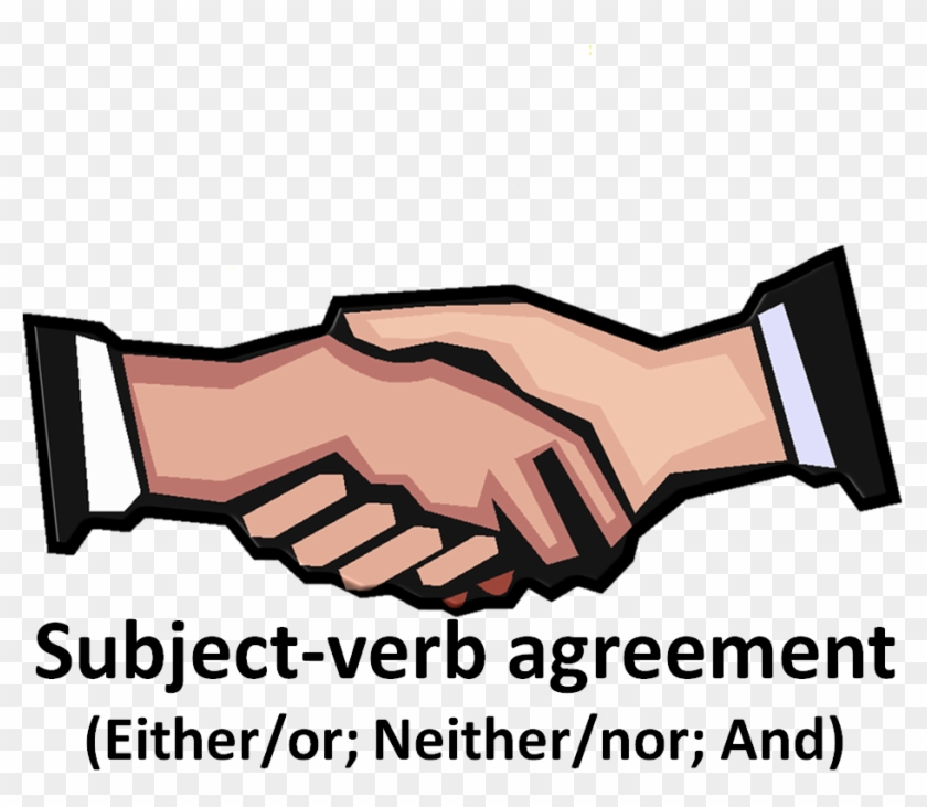 Today's Post Sheds A Bit Of Light On A Writing Topic - Handshake Clip Art #232812