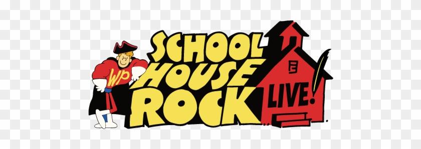 School House Rock - Schoolhouse Rock Live Jr Logo #232934