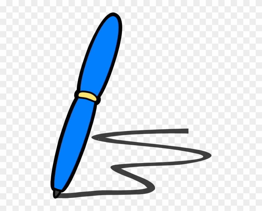 Writing Clipart Free Images 2 - Writing Pen Clip Art #233136
