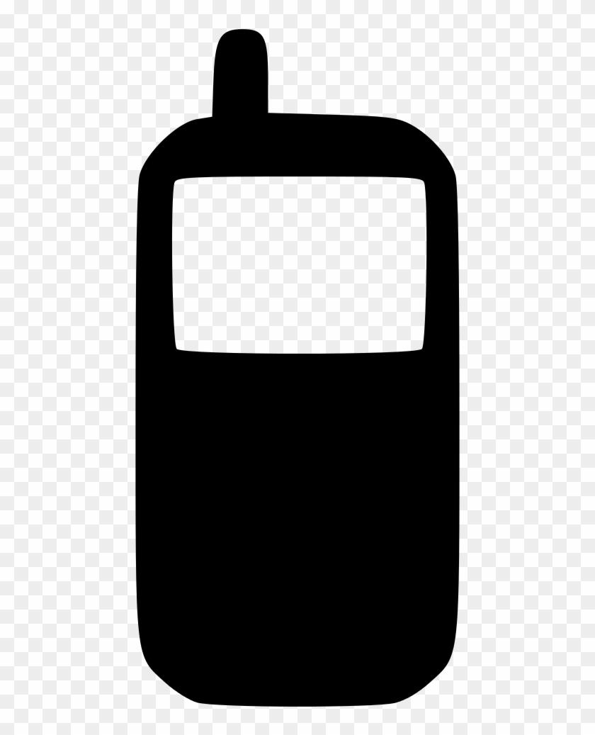 Cell Phone Icon Black - Cell Phone Icon Black #233423