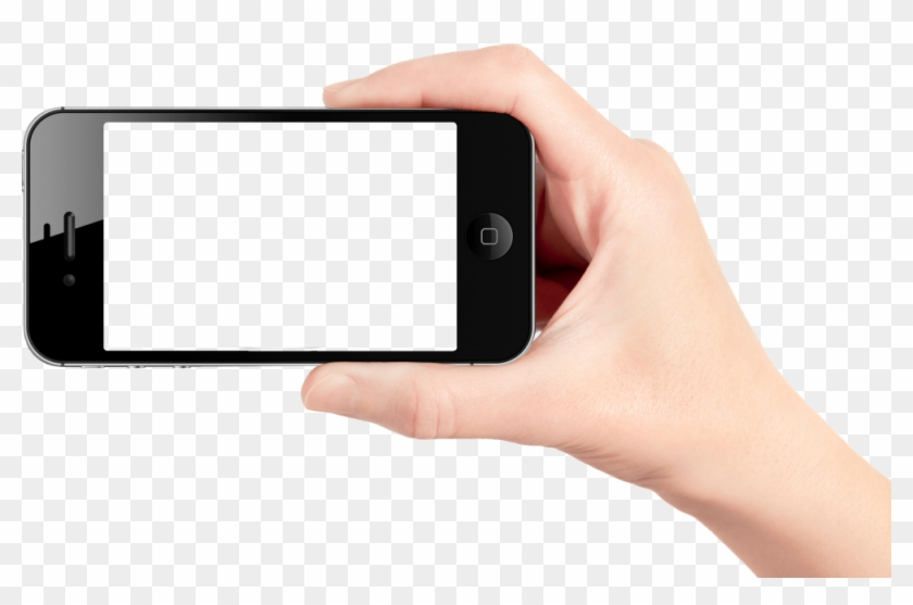 Download Mobile Cell Phone In Hand Png Transparent - Nilox