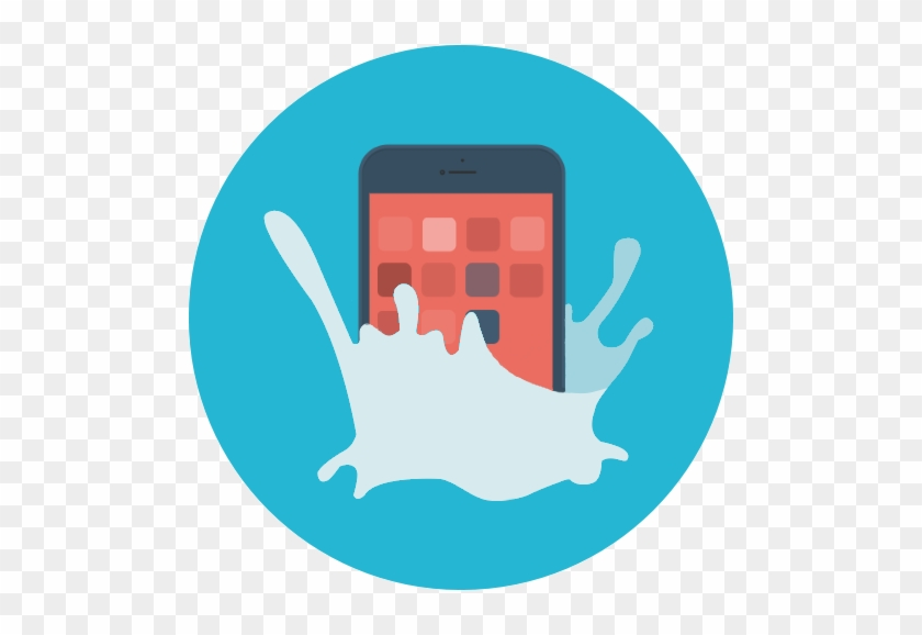A Complete Guide To Mobile Phone Insurance - Water Slash Icon Icon #233444