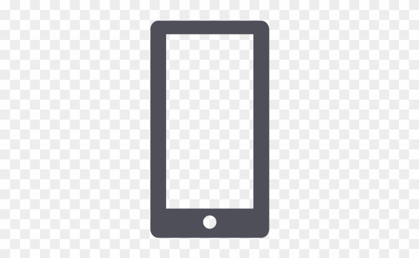 Mobile Phone Icon Clipart - Mobile Phone Icon Grey #233486