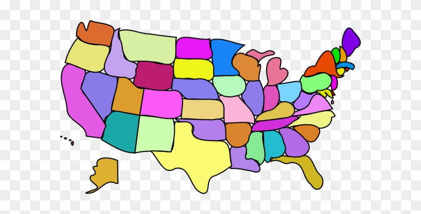 Usa Map With State And Capital Names #233516