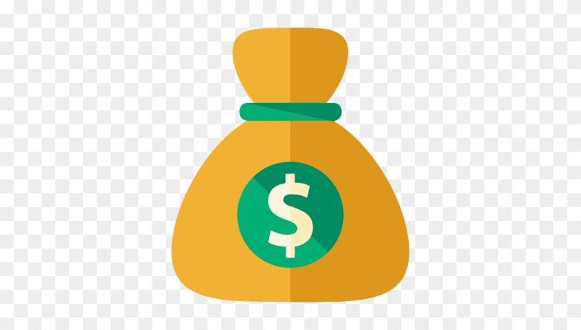 Valuable - Money Bag Icon Png #233569