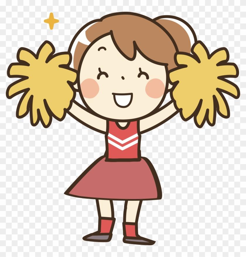 Big Image - Cheerleader Clipart #233839