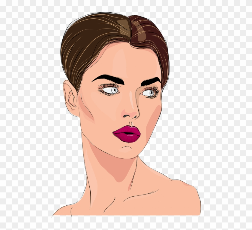 Young Lady Clip Art #1487789