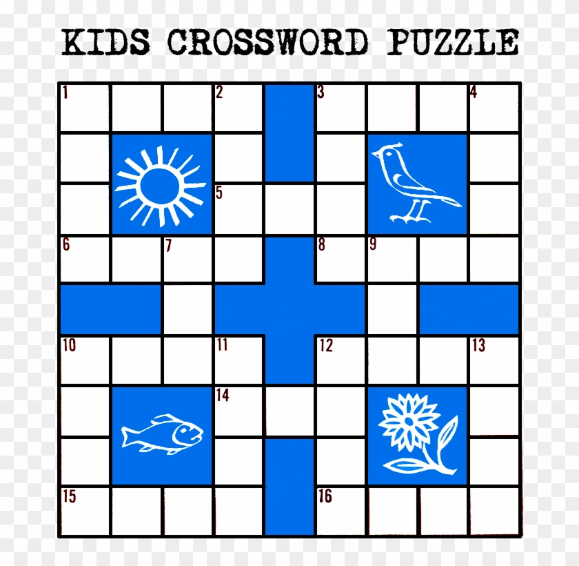 Kids Printable Crossword Puzzle - Kids Printable Crossword