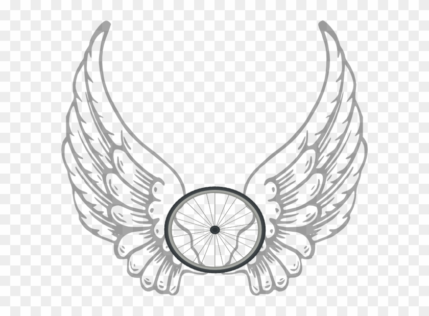 Angel Wing Transparent Clip Art - Angel Wings With A Halo #234016
