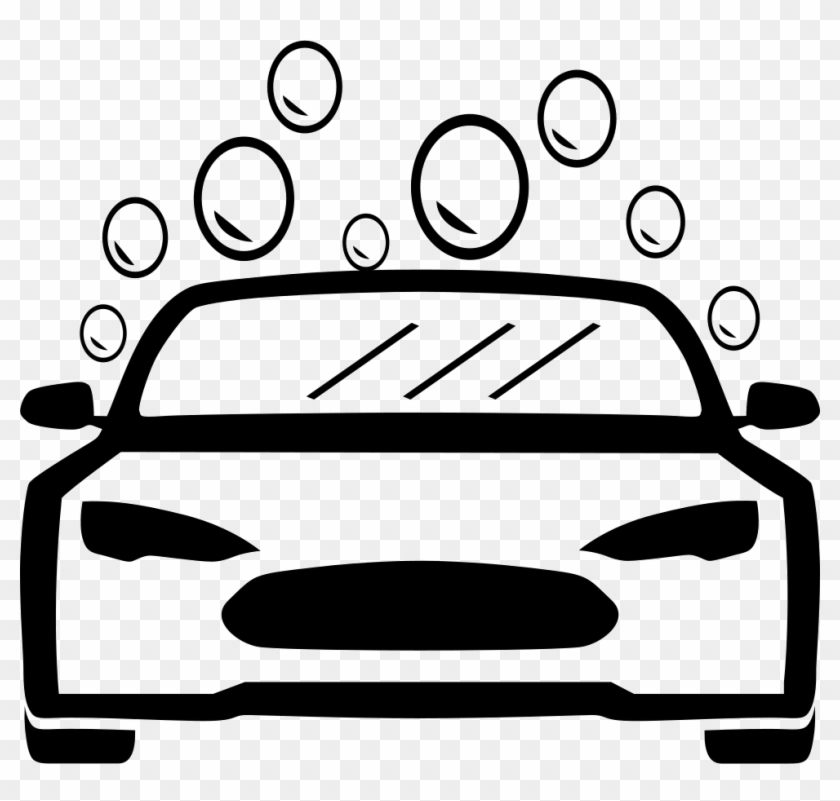 Png File - Car Wash Clipart Black And White #234458