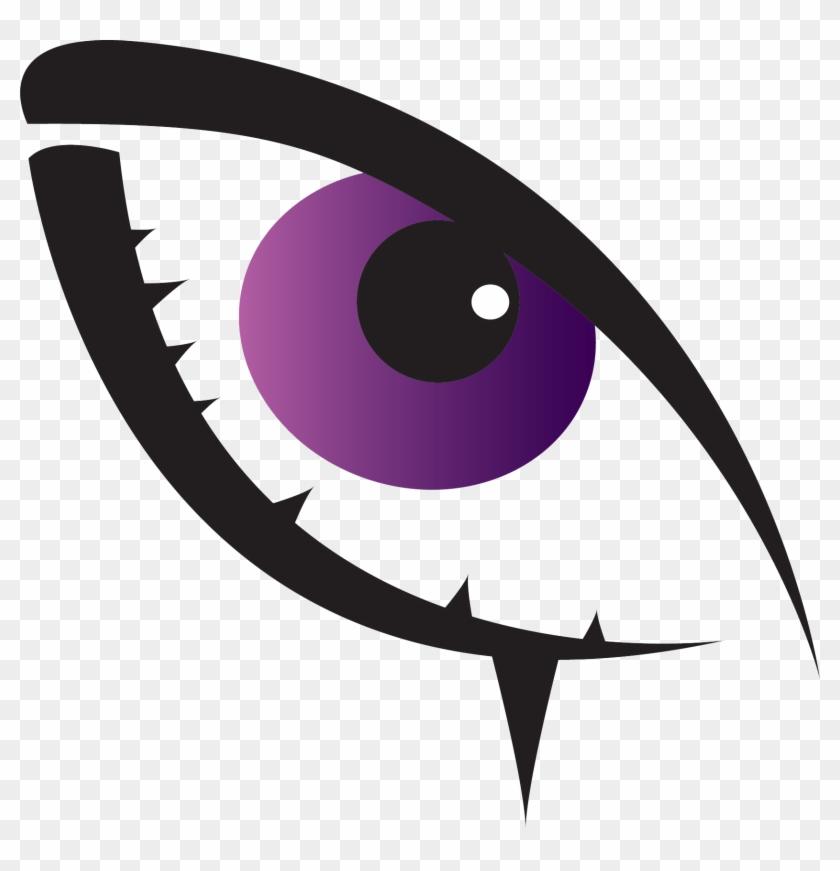 Purple Eye By Justdejan Purple Eye By Justdejan - Purple Eye Clipart #234637