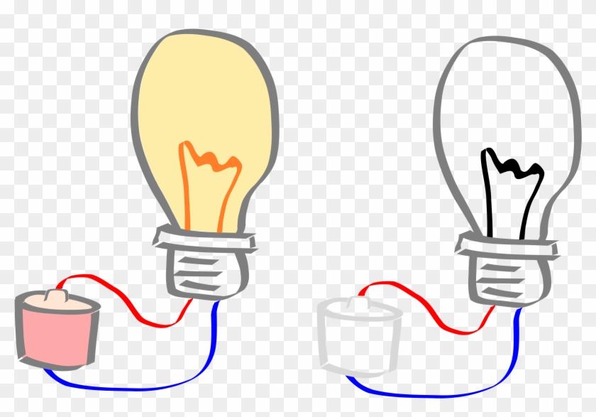 Light Bulb - Light Bulb Turned Off Clipart #235388