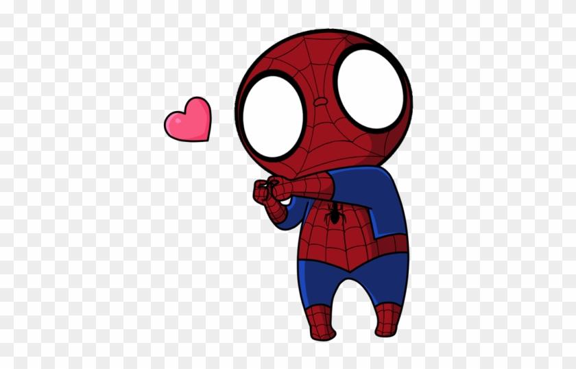 Chibi Spider Man By Nai Eri - Cute Spiderman Chibi #235412