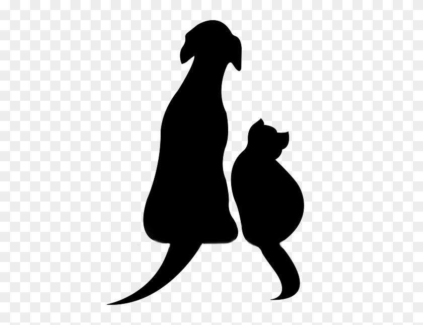 Saturday & Sunday - Dog And Cat Silhouette Clip Art Free #235562