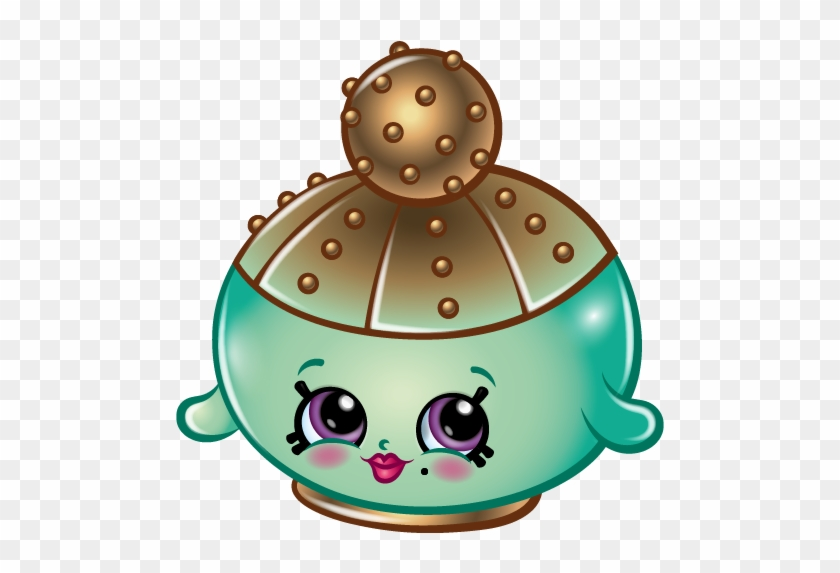 Shopkins Season 4 Limited Edition Sparkly Spritz Free Transparent Png Clipart Images Download