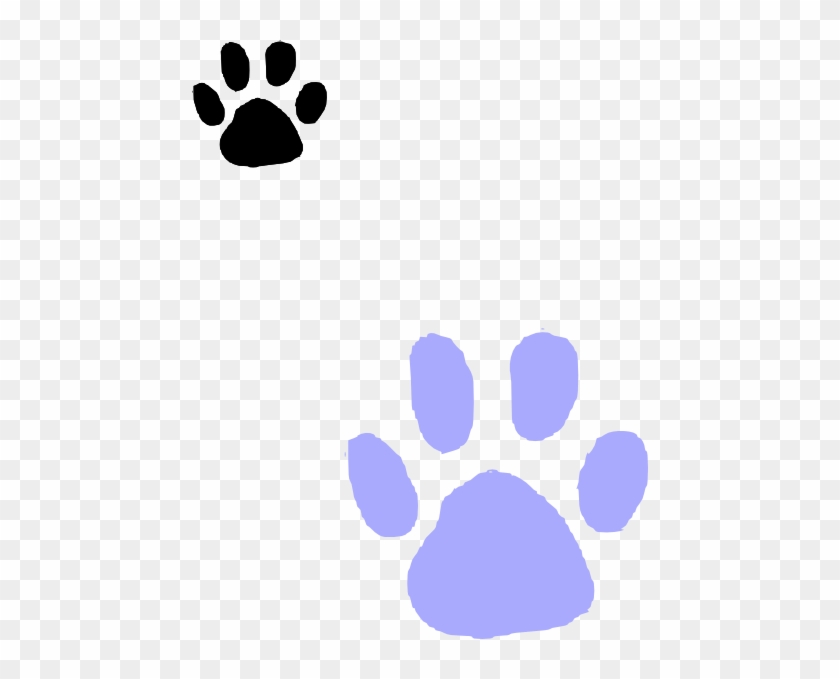 Free Purple Panther Paw Print Make Your Own Paw Print Template