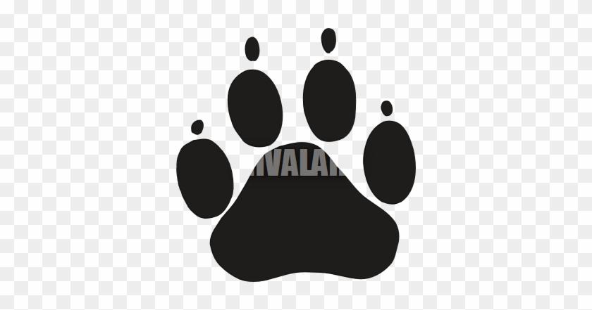 Dog - Paw - Clipart - Dog Paw Print #235785