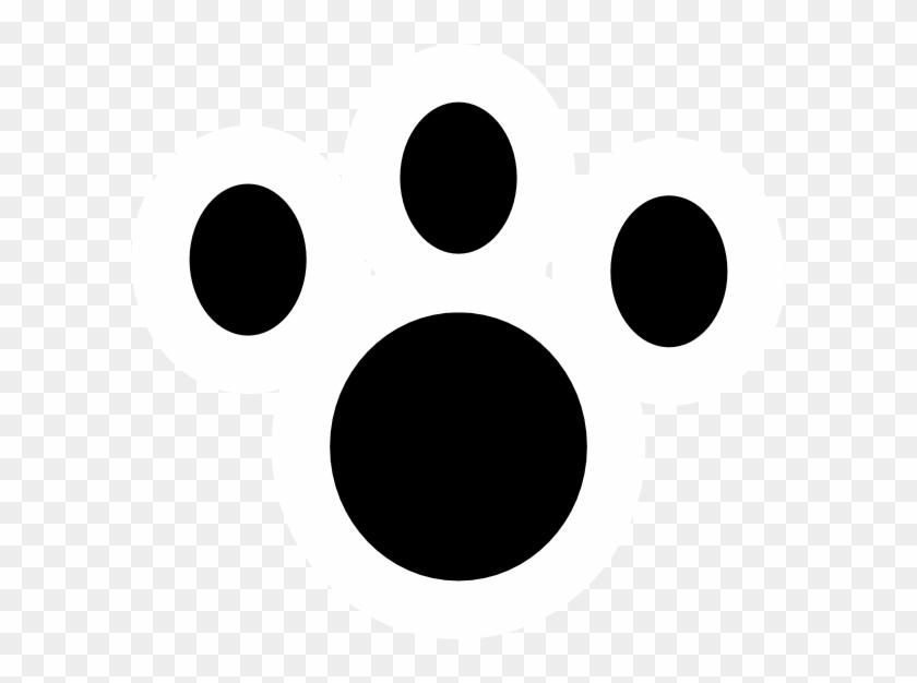 Leopard Paw Print Clip Art - Circle #235909