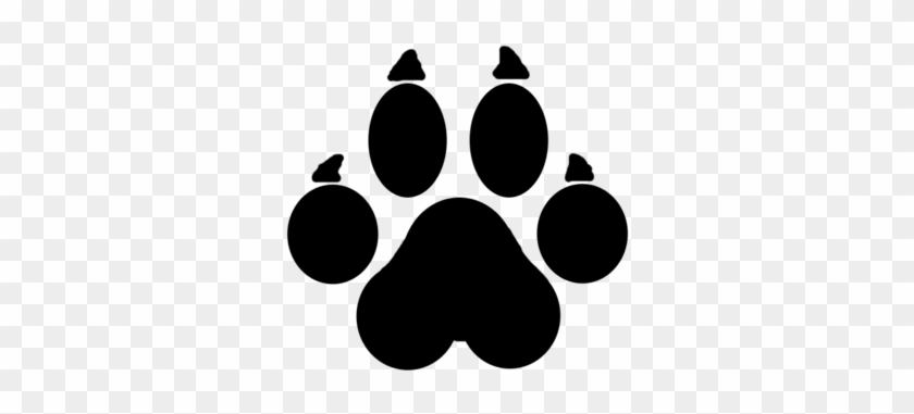 Coyote Paw Prints - Cougar Tracks Clip Art - Free Transparent PNG Download  - PNGkey