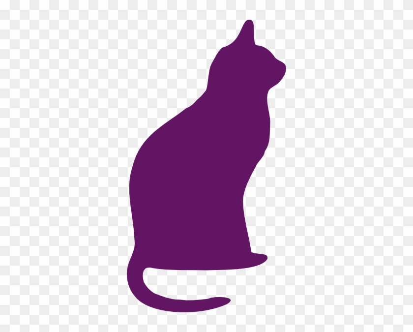 free purple cat cliparts download free clip art free cat