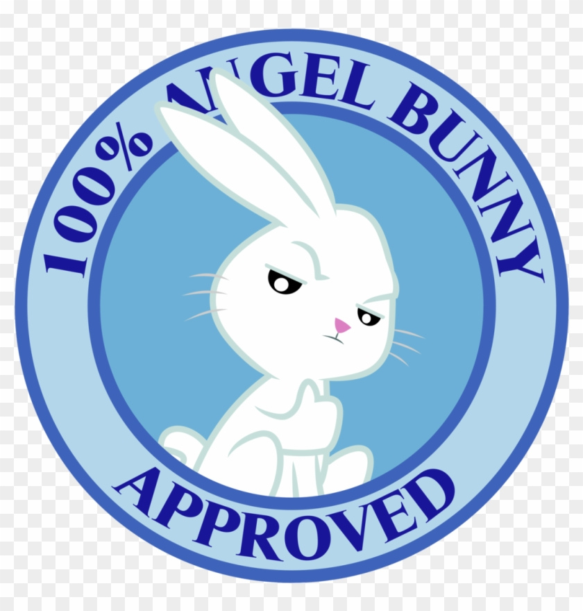 Angel Bunny Seal Of Approval By Masemj - Bunny Stamp Of Approval #236171