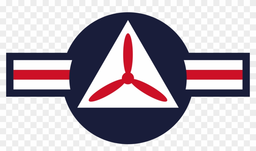 Roundel Of The Civil Air Patrol - United States Army Air Force #236308