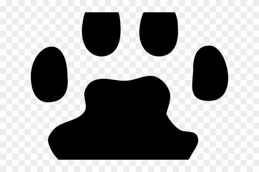 Paw Print Graphic - Cat Paw Print Vector #236351