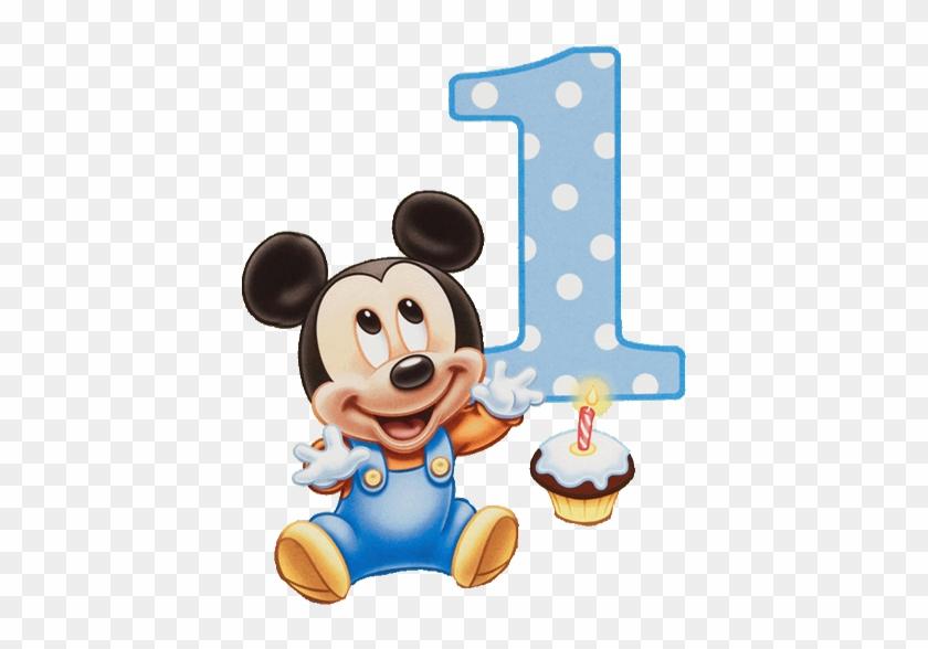 Mickey Baby Mickey Mouse 1st Birthday Invitations Free