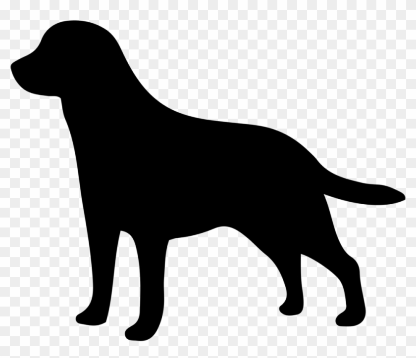 Labrador Retriever Golden Retriever Silhouette Clip - Dog Walking Ad Ideas #236571