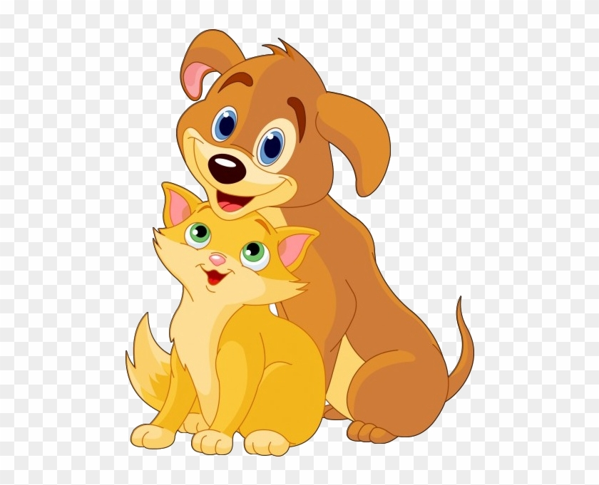 Dog And Cat Cartoon Animal Images Dog And A Cat Cartoon Free Transparent Png Clipart Images Download