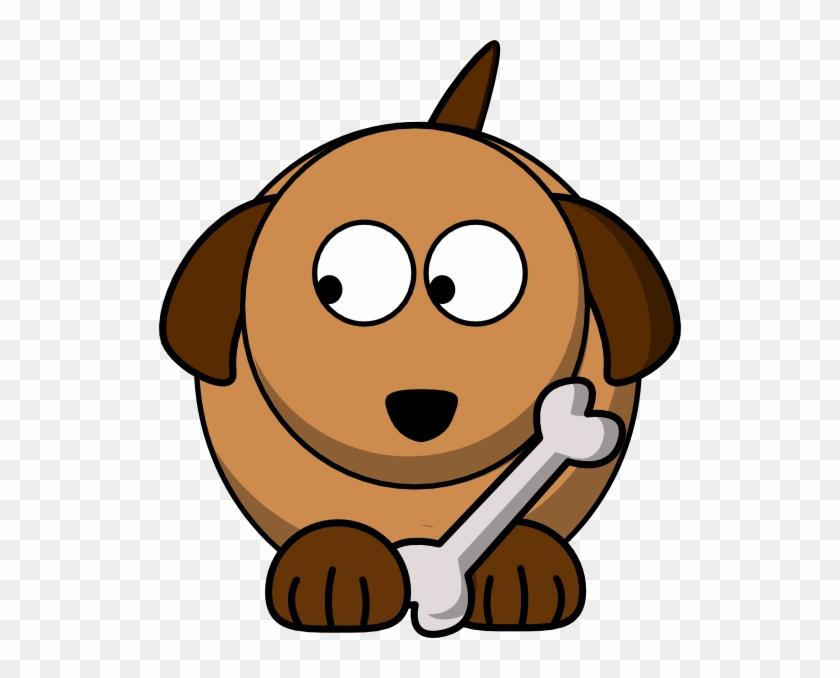 Dog - Cartoon Dog Looking To The Left #236746