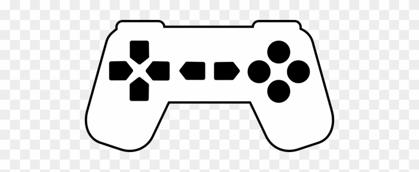 Video Game Clipart Silhouette Controller Black And White Free Transparent Png Clipart Images Download