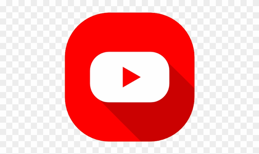 Connect With Us - Round Youtube Logo Png #236971