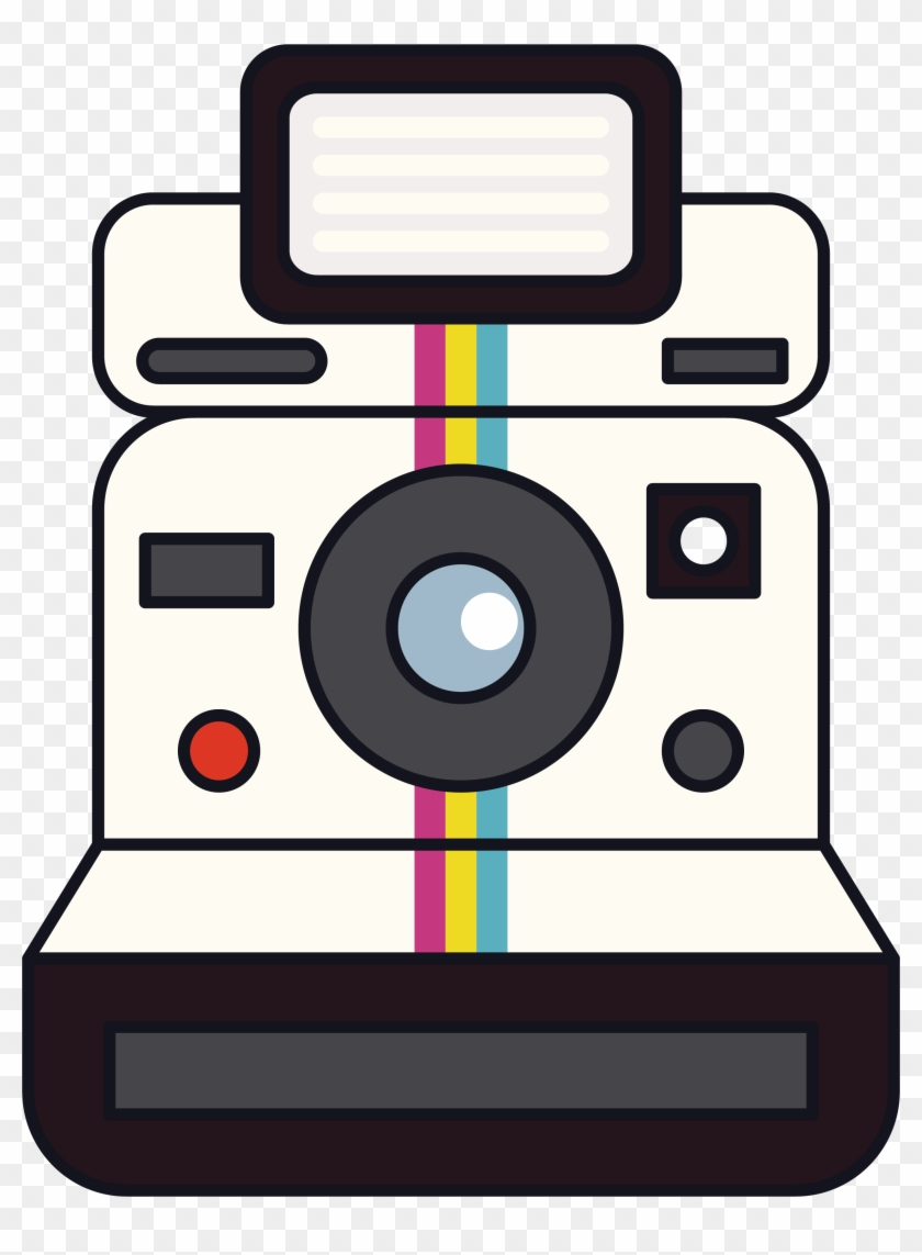 Instant Camera Polaroid Corporation Clip Art - Clipart Polaroid Camera #237202