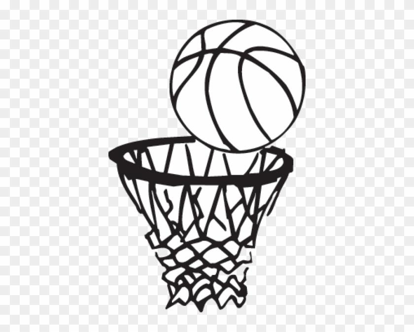 Картинки с баскетболом черно белые