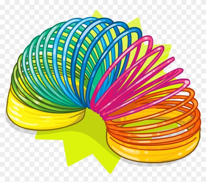Slinky Dog Toy Clip Art - Slinky Clipart #237309