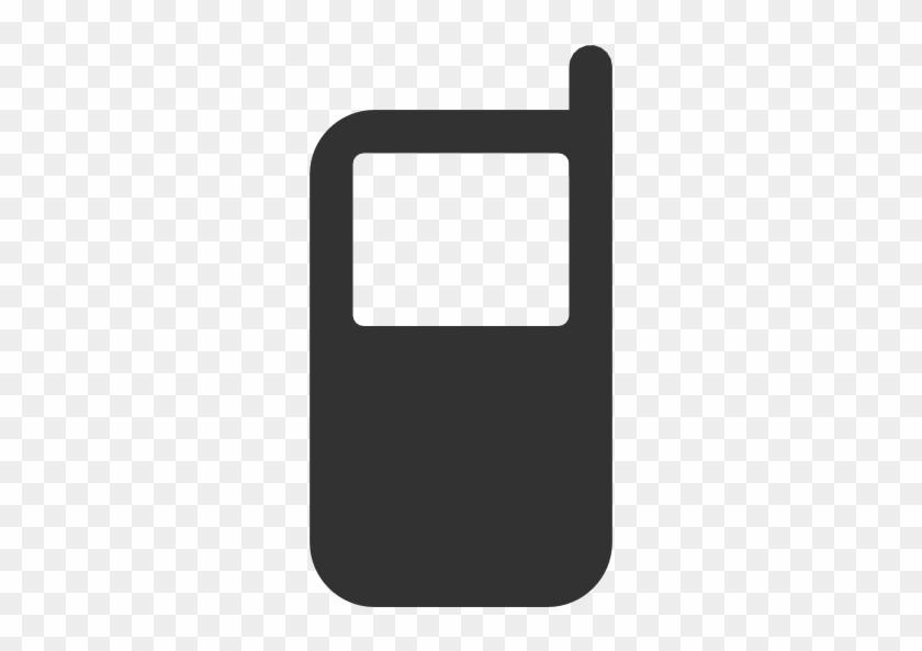 Mobiltelefon - Cell Phone Icon Black #237404