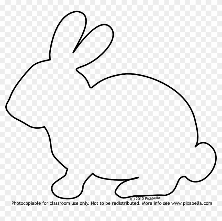 Bunny Rabbit - Bunny Outline #237553