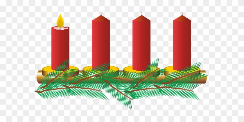 Advent, First Advent, Christmas - 3rd Advent Candle Clipart #237649