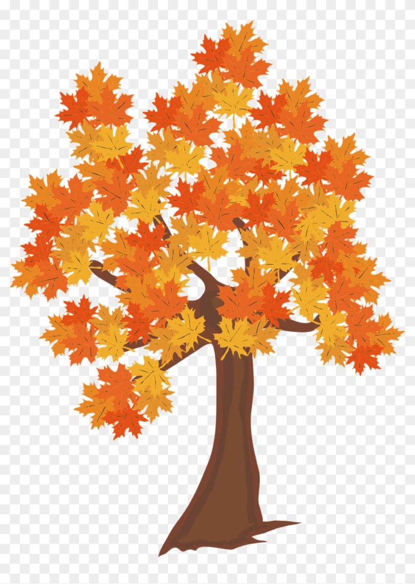 Fall Tree Clipart Pdf - Free Transparent PNG Clipart Images Download