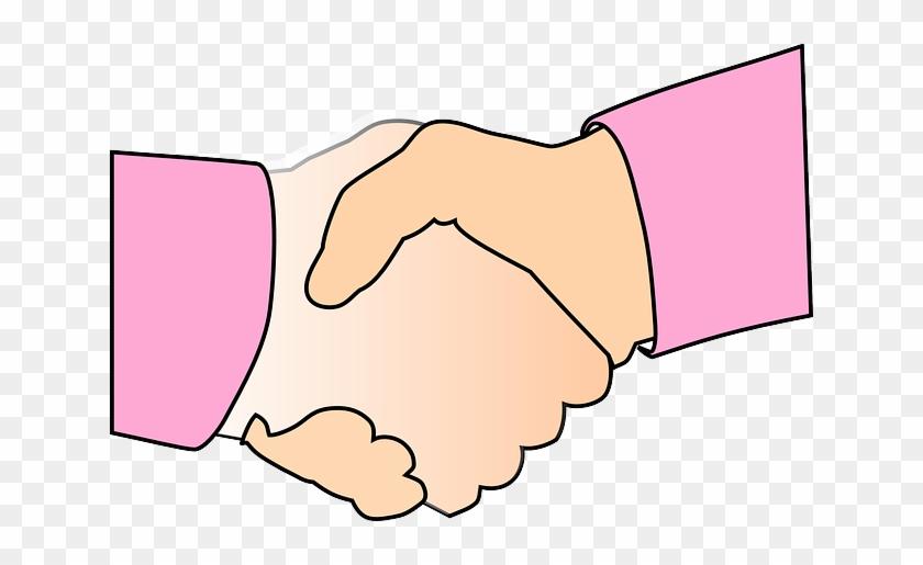Händeschütteln Clipart - Handshaking #237740
