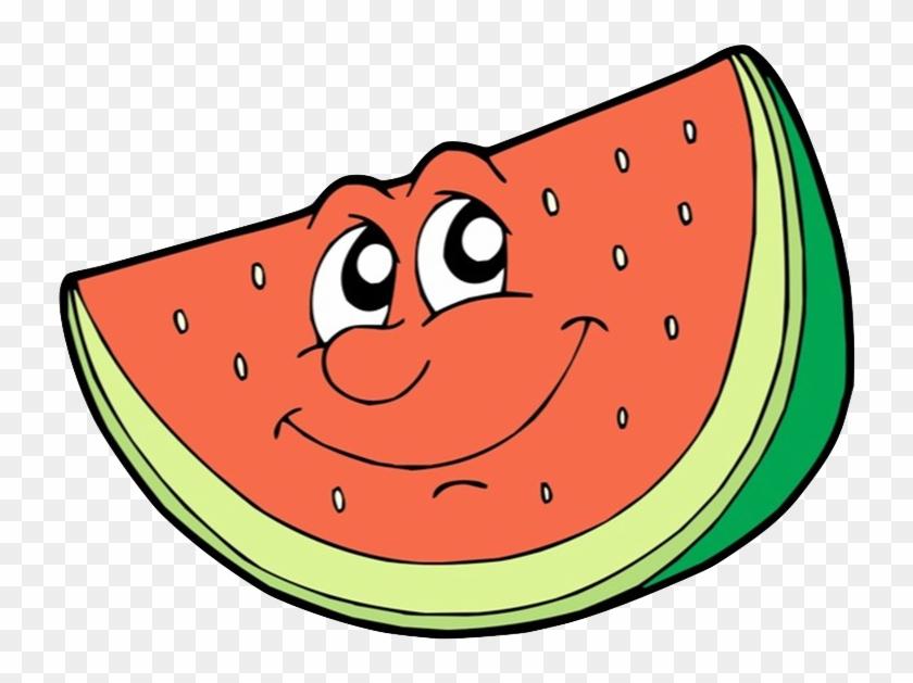 Watermelon Slice Cartoon #238100