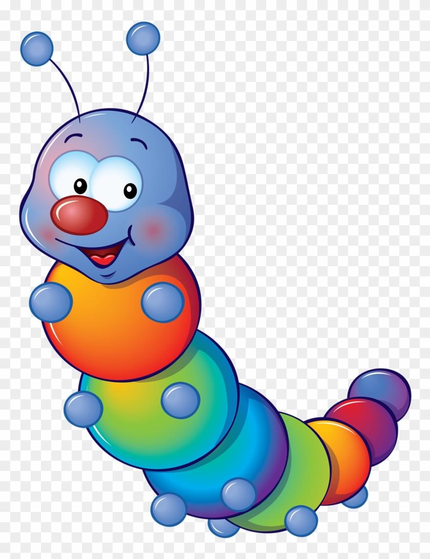 Cute As A Bug - Cute Caterpillar Clipart Png #238250