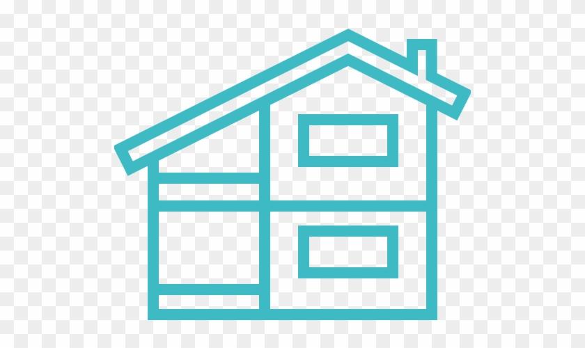 Konstruktion, Konstruktionen, Gebäude, Haus, Haus Symbol - Icono Casa En Construccion #239208