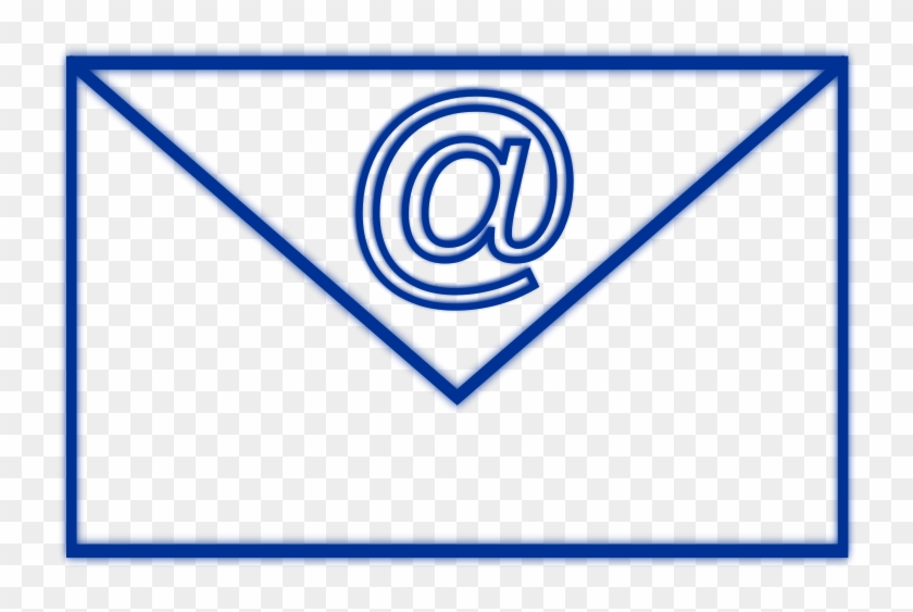 Email Rectangle 4 Free Email 7 - Logo De Email Azul Png #239620