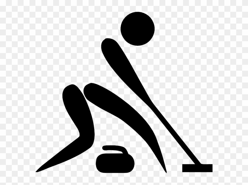 Olympic Sports Curling Pictogram Clip Art At Clker - Olympic Curling Logo #239626