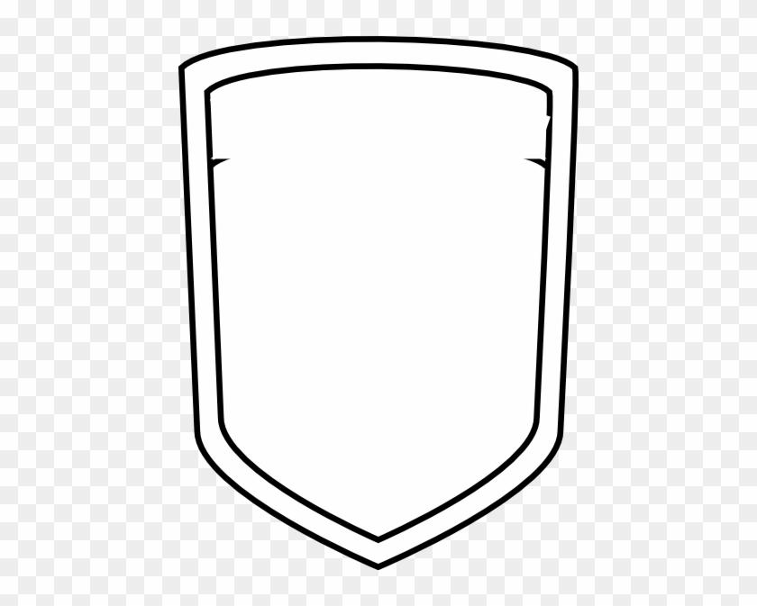 Blank Shield Soccer Clip Art - Blank Football Logo Png #239721